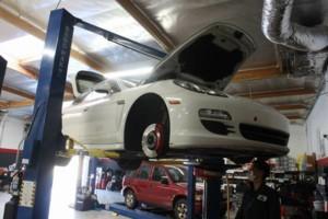 Photo #1: Repair Porsche Panamera coolant dump, lose coolant Coolant level Low A