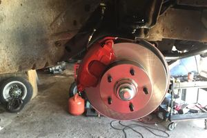 Photo #1: Oldsmobile Jet Star1 Brakes