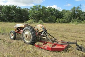 Photo #1: Shredding and Mowing Lots /Acres