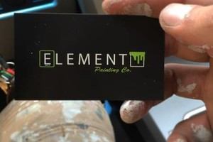 Photo #1: Element Painting Company: We Paint Just About Anything...