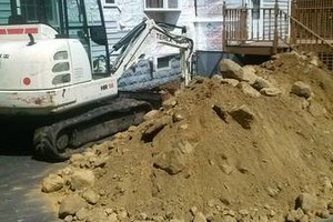 Photo #1: ALL OUTSIDE CONSTRUCTION. EXCAVATION & LANDSCAPE