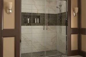 Photo #1: Glass Door Installation