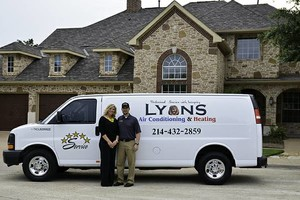 Photo #1: Lyons Air. HEATING INSTALLATIONS