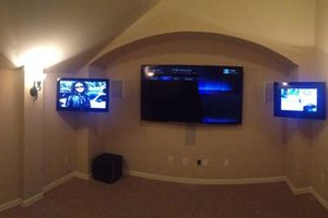 Photo #1: Flatscreen TV and Home Theatre Installation (Star City Install)