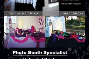Photo #1: Rent our Photo Booth and Event Lighting