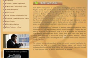 Photo #1: SCHUBERT INVESTIGATIONS INC. VERY AFFORDABLE LICENSED PRIVATE INVESTIGATOR