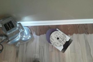 Photo #1: Sanding and refinishing floors