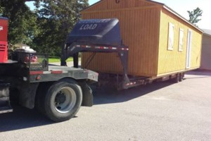 Photo #1: Eagle Transport Services. I move Portable buildings!!