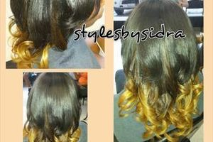 Photo #1: Get long thick hair with hair extension!!!