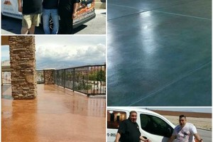 Photo #1: Decorative Concrete Expressions - new patio or repairs