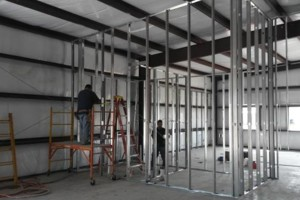 Photo #1: METAL DRYWALL PARTITIONS - CALL NOW!