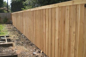 Photo #1: ALYVER CONTRACTORS. FENCE AND DECK SERVICE