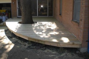 Photo #5: ALYVER CONTRACTORS. FENCE AND DECK SERVICE