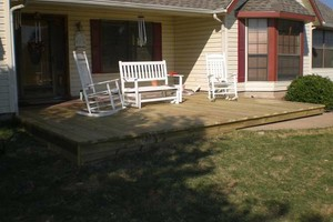 Photo #6: ALYVER CONTRACTORS. FENCE AND DECK SERVICE