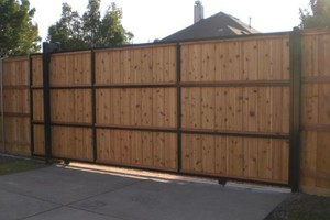Photo #8: ALYVER CONTRACTORS. FENCE AND DECK SERVICE