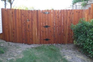 Photo #9: ALYVER CONTRACTORS. FENCE AND DECK SERVICE
