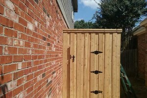 Photo #10: ALYVER CONTRACTORS. FENCE AND DECK SERVICE