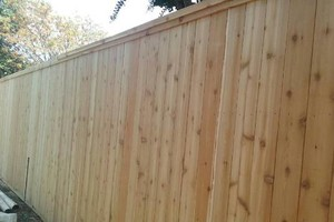 Photo #11: ALYVER CONTRACTORS. FENCE AND DECK SERVICE