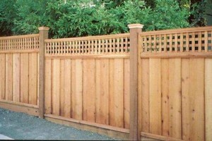 Photo #13: ALYVER CONTRACTORS. FENCE AND DECK SERVICE