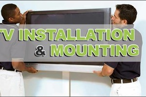 Photo #1: TV Mounting- At a fraction of the cost. Insured and reliable company!