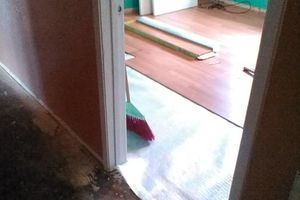 Photo #1: Laminate installation at a 1.00 a sqft hardwood at 2.50sqft