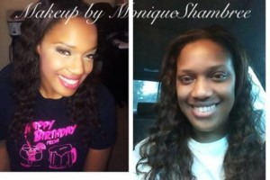 Photo #1: Nails and Makeup by Monique Shambree affordable prices Awesome Looks!!
