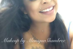 Photo #2: Nails and Makeup by Monique Shambree affordable prices Awesome Looks!!