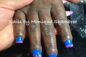 Photo #9: Nails and Makeup by Monique Shambree affordable prices Awesome Looks!!
