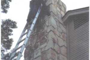 Photo #1: Chimney inspection/cleaning and dryer vent cleaning