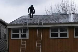 Photo #2: Shapiro's Roofing & Tuckpointing. $199 leak repair