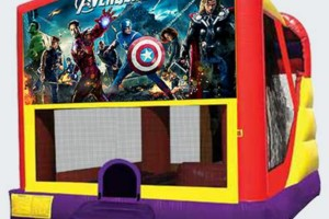 Photo #1: $49 Bounce House Rental / $99 Bounce/Slide Combo Rental (all day)