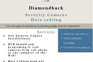 Photo #1: Security Camera and Data Cable Contractor