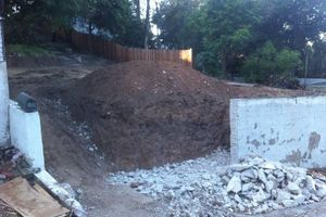 Photo #2: Bobcat Work/ Concrete and Asphalt Demo/ Hauling