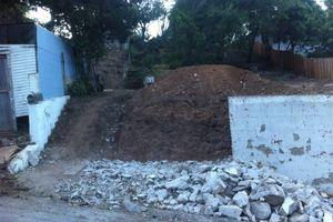 Photo #3: Bobcat Work/ Concrete and Asphalt Demo/ Hauling