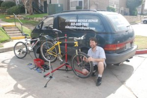 Photo #1: JJ's Mobile Bicycle Repair -Full Tune Ups at Your Location!