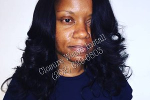 Photo #1: I DO SEWIN/WEAVES & MAKE NATURAL U-PART WIGS !!!