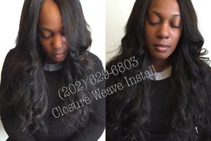 Photo #5: I DO SEWIN/WEAVES & MAKE NATURAL U-PART WIGS !!!