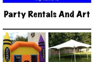 Photo #3: Tents, Bounce Houses, tables , chairs, moonwalk. Party, birthdays,...