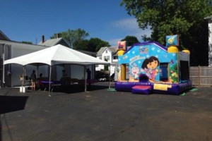 Photo #8: Tents, Bounce Houses, tables , chairs, moonwalk. Party, birthdays,...