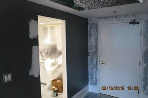 Photo #11: Gel staining, interior painter, wallpaper removal...