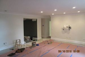 Photo #15: Gel staining, interior painter, wallpaper removal...