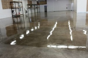 Photo #2: Workman's Comp. Basement Polished Concrete Grinding, Concrete Leveling Sealing Epoxy