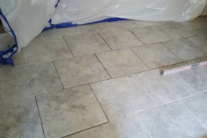 Photo #3: TILE SERVICES - sealing/staining/restoration