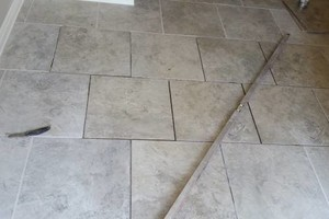 Photo #1: TILE SERVICES - sealing/staining/restoration