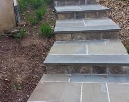 Photo #4: Custom Landscape And Construction, LLC. Unilock walls and patios