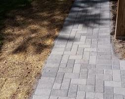 Photo #5: Custom Landscape And Construction, LLC. Unilock walls and patios
