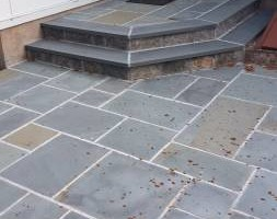 Photo #6: Custom Landscape And Construction, LLC. Unilock walls and patios