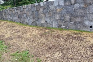 Photo #8: Custom Landscape And Construction, LLC. Unilock walls and patios