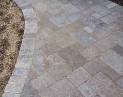 Photo #12: Custom Landscape And Construction, LLC. Unilock walls and patios