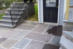 Photo #17: Custom Landscape And Construction, LLC. Unilock walls and patios
